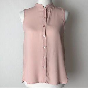 Tops - Forever21 | blush polyester sleeveless blouse S